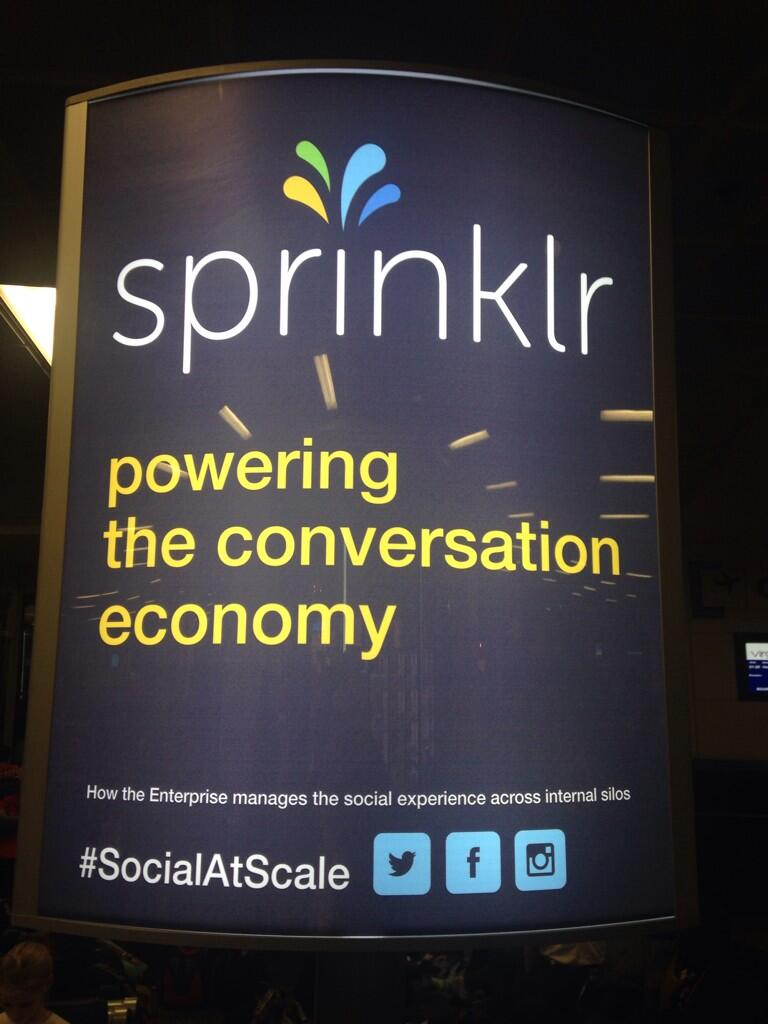 Sprinklr Poster - Source: Ivor Tossell